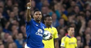 Samuel Eto Everton 2