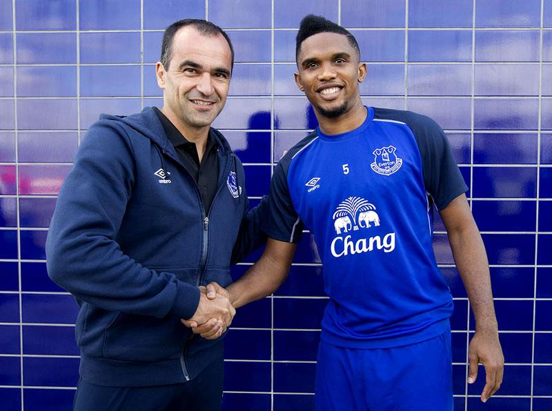 Samuel Eto Everton