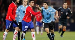 Chile vs Uruguay Suarez