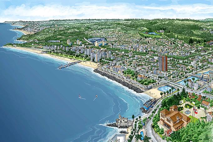 6f9fd656a15 Viña del Mar lidera la encuesta Barómetro Imagen Ciudad 2014, que mide la  percepción de los chilenos sobre la calidad de vida, trabajo, estudios y  turismo ...