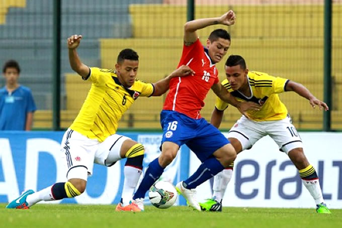 Chile vs Colombia Sub 20