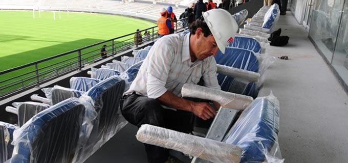 Butacas Estadio Sausalito