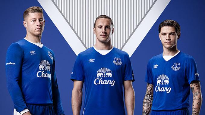 Camiseta Everton FC 2015-2016