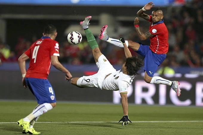 Chile vs Bolivia Copa America 2015