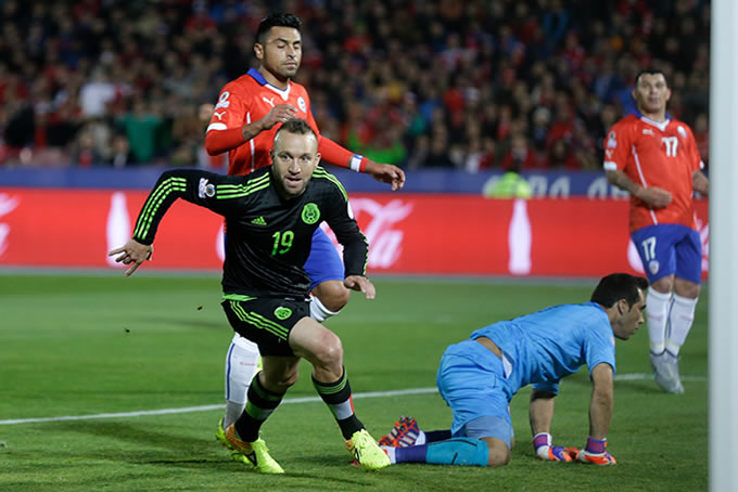 Chile vs Mexico America 2015