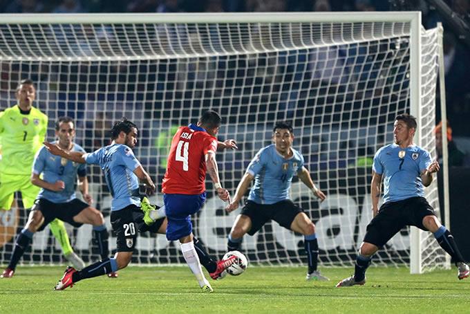 Chile vs Uruguay America 2015