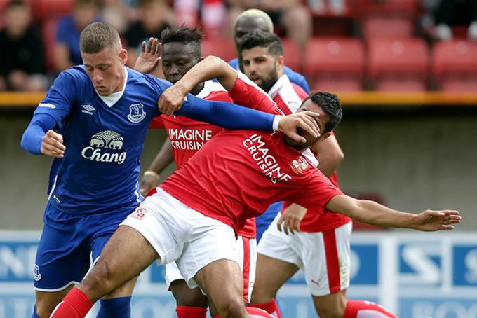 Everton FC vs Swindon Town