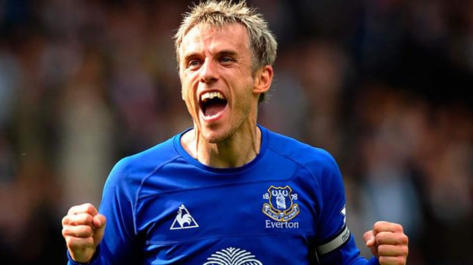 Phil Neville Everton FC