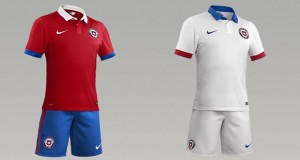 Camiseta Seleccion Chilena Nike 2