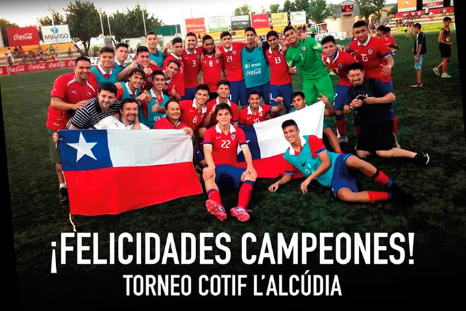 Seleccion Chilena Sub 20 Campeon