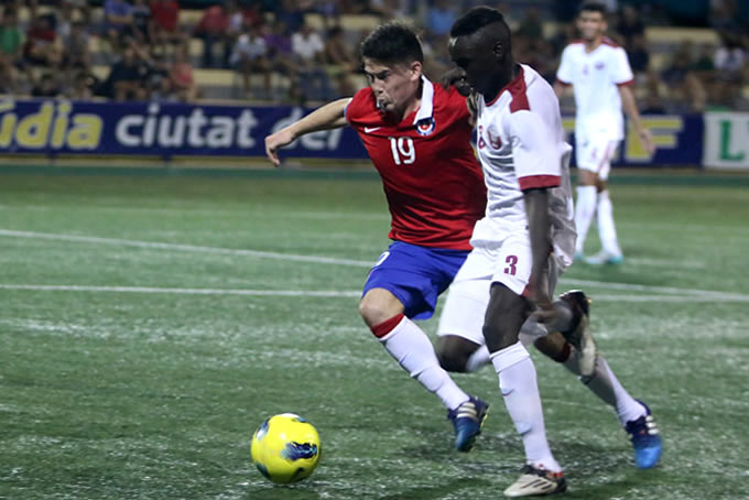 Seleccion Chilena Sub 20 vs Qatar