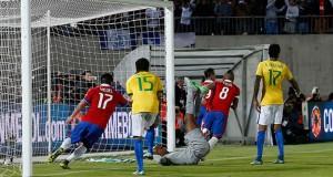 Chile vs Brasil 2