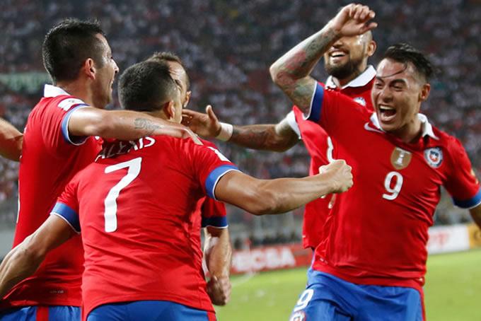 Dupla Sanchéz Vargas Selección Chilena