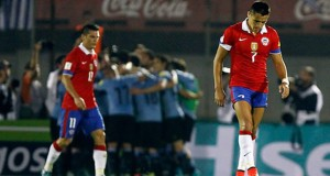 Chile vs Uruguay Eliminatorias Rusia 2018
