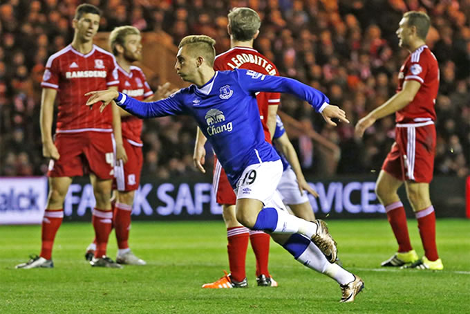Gerard Deulofeu Everton FC 2