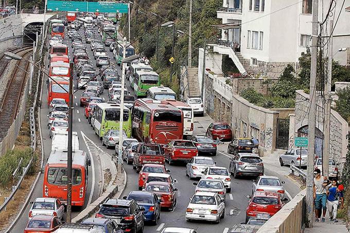 Congestión Vehicular Viña del Mar