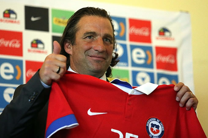 Juan Antonio Pizzi Seleccion Chilena