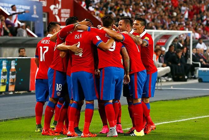 Seleccion Chilena Copa America Centenario