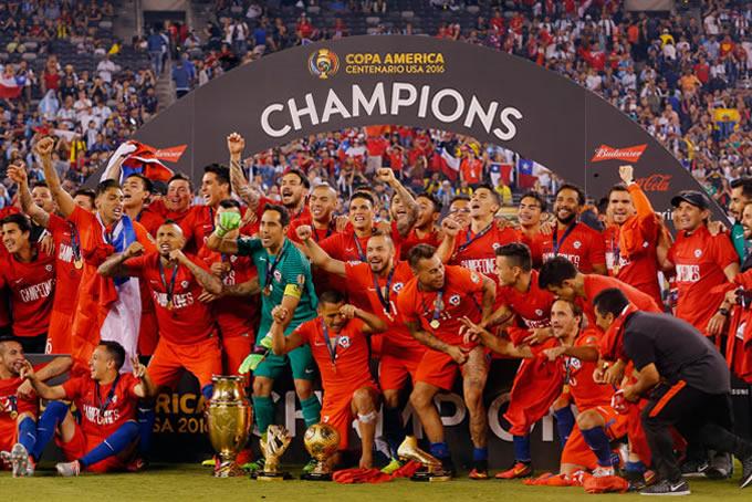 Chile Bicampeon Copa America Centenario