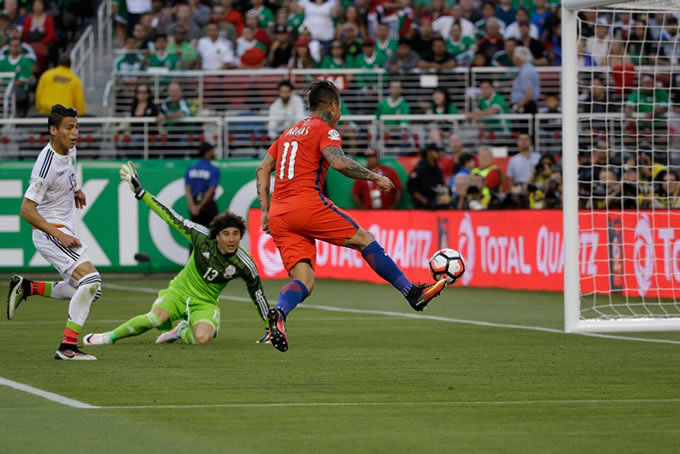 Chile vs Mexico 7-0