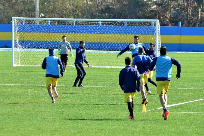 Everton Entrenando CDE 2