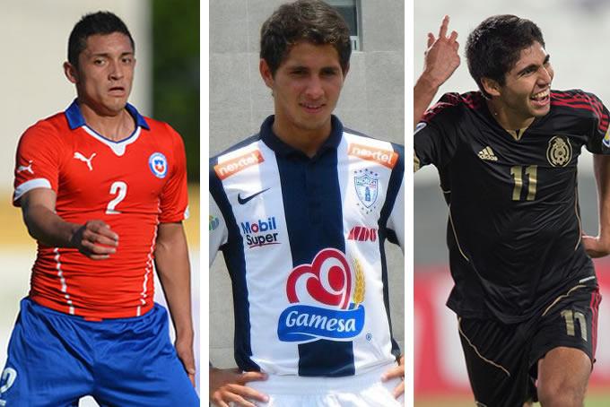 Camilo Rodríguez Simón Steven Almeida Iván Fernando Ochoa Everton