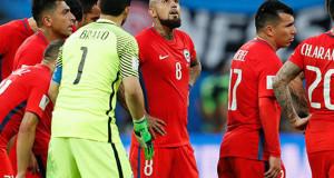 Selección Chilena Derrota