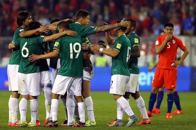 Chile vs Bolivia 2