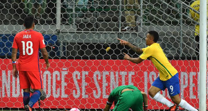 Chile vs Brasil 4