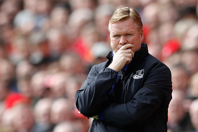Ronald Koeman Everton FC 4