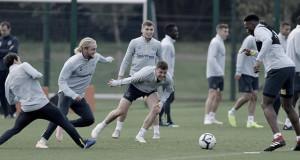 Everton FC Entrenando