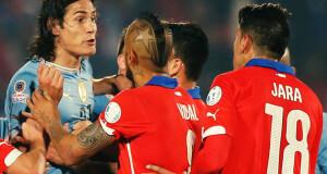 Chile vs Uruguay 2020