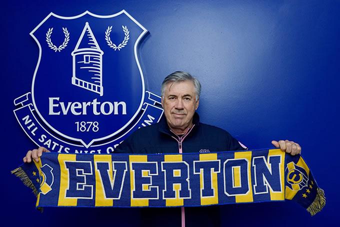 Carlo Ancelotti Everton FC 2