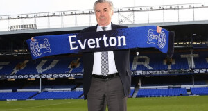 Carlo Ancelotti Everton FC