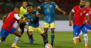 Chile vs Colombia Octubre 2020