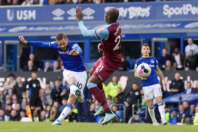 Everton vs West Ham United 4